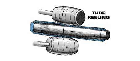 How is butted tubing made? -