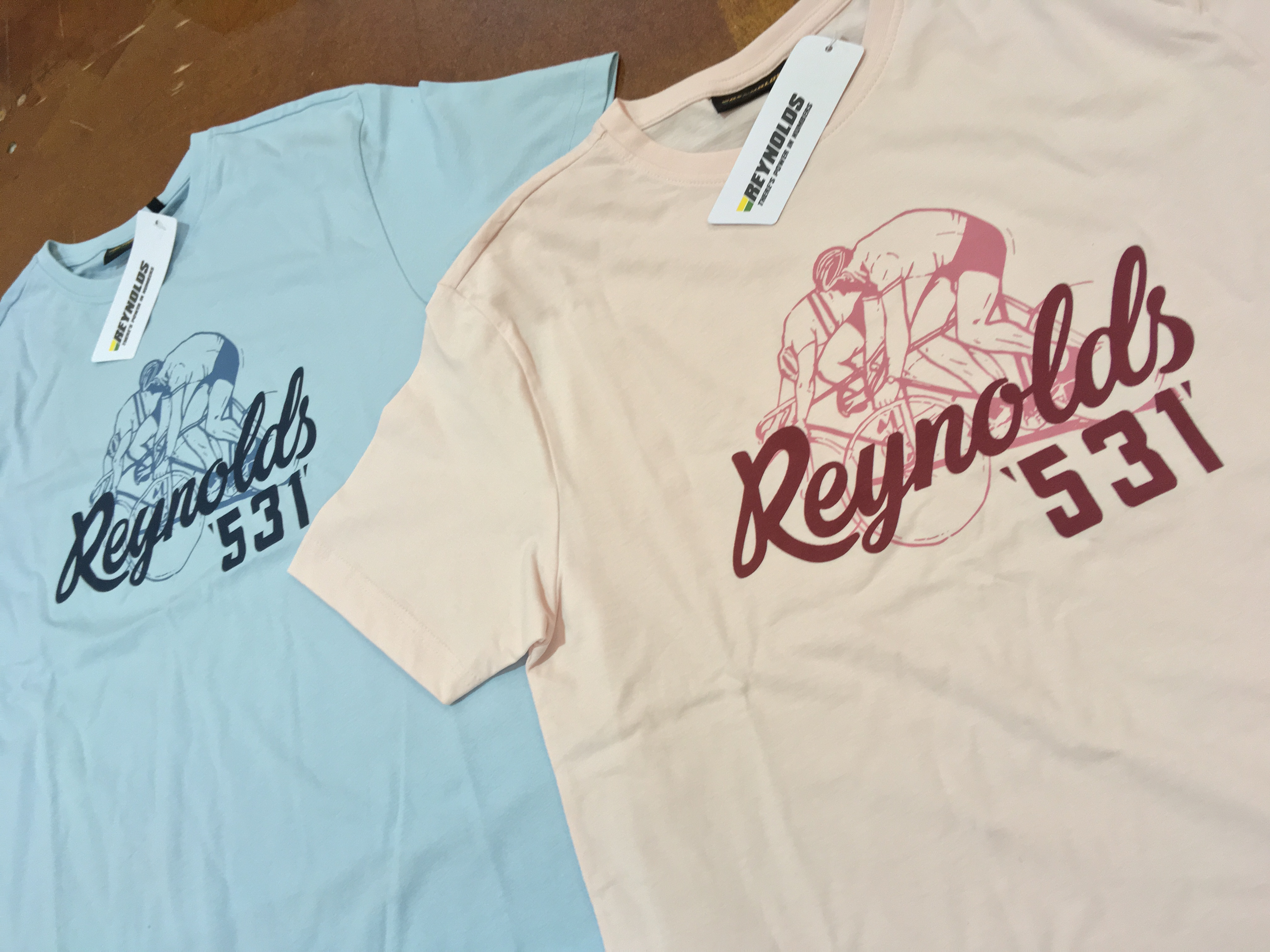 reynolds clothing pink and blue