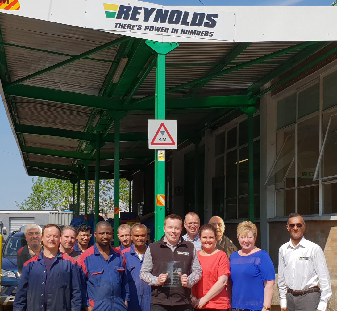 Reynolds wins made in the midlands award