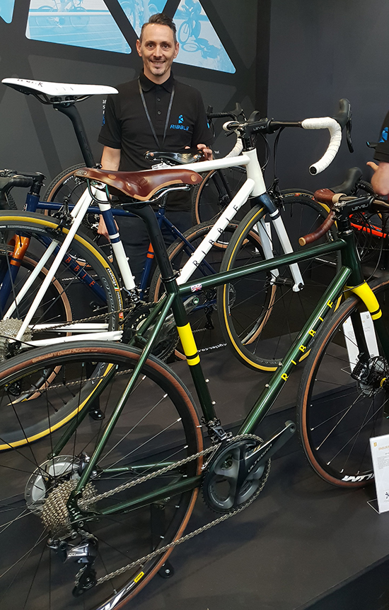 Reynolds at the 2018 Cycle Show Ribble 725
