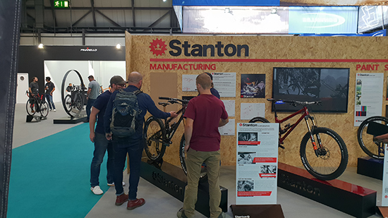Reynolds at the 2018 Cycle Show Stanton