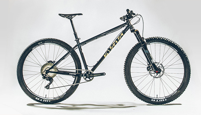Cotic bike featuring Reynolds 853 wins at Singletrack Reader Awards 2018