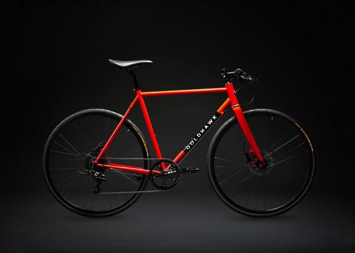 Goldhawk Rodax with Reynolds 520 steel tubing - urban bike