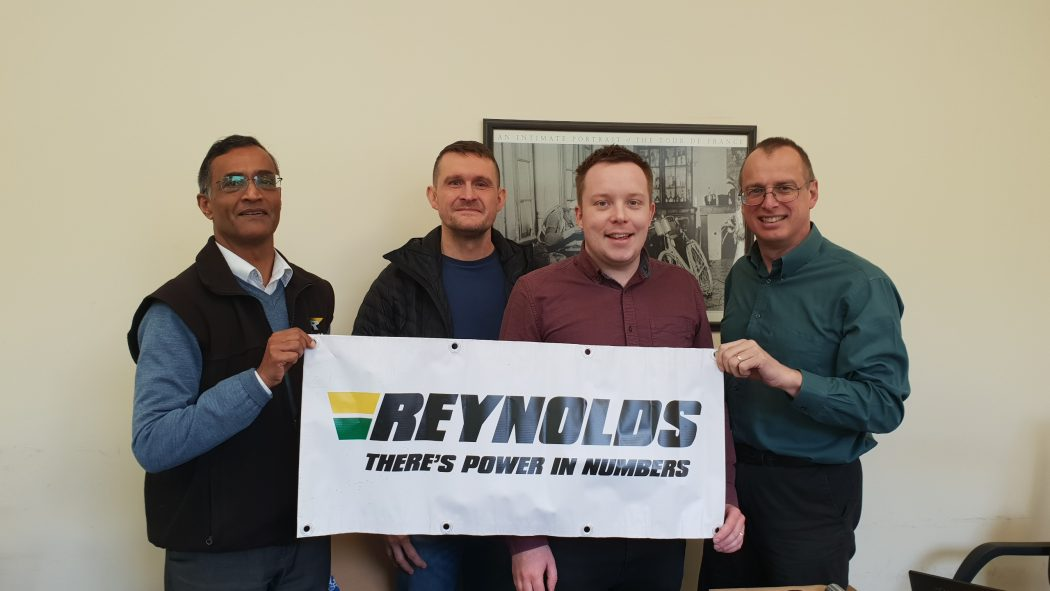 Jon Reynolds visits the factory and reveals more of the history of Reynolds Technology